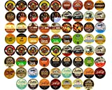 Flavored Coffee Single Serve Cups for Keurig K Cup Brewers Variety Pack Sampler (70 Count)