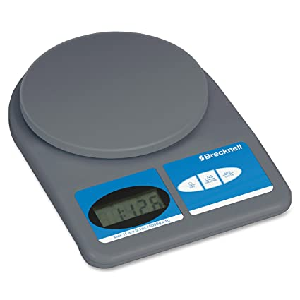 Salter Brecknell 311 11-lb.Weight-Only Scale, 11-lb x 0.1 oz. capacity, 5-3/4 dia. Platform