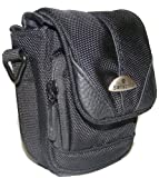 6.5 x 4.5 x 12cm High Quality All Weather Shoulder Strap Camera Case For Sony Cameras Including MHS-PM5KP Bloggie