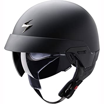 SCORPION eXO - 100 casque sOLID-noir mat