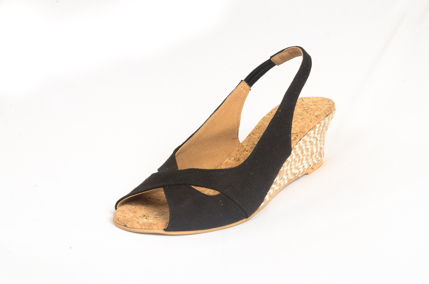 Route High Heel Ladies Synthetic Chappals Fitted with Beads and Stones - [YH-H-C-001]