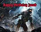 Halo 4 Image Photo Cake Topper Sheet Personalized Custom Customized Birthday Party - 1/4 Sheet - 76772