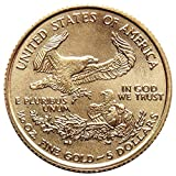 $5 American Gold Eagle 1/10 oz. (Random Year) US Mint Uncirculated