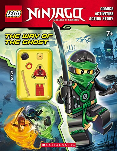 Way of the Ghost Activity Book [With Minifigure] (Lego Ninjago Master of Spinjitzu)