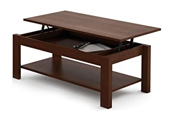 MESA DE CENTRO ELEVABLE HIGH QUALITY. WENGUE