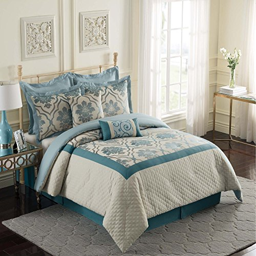 Simple You can view details evaluate price tag plus go through examine customer views right before buyEllery Homestyles EHS Naples Piece Fashion Bedding Set