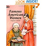Famous American Women (Dover History Coloring Book)