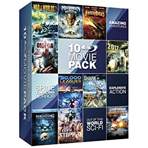 Sci-Fi Movie Collection Box Set [Blu-Ray]