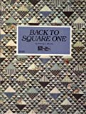 Back to Square One (0943574463) by Martin, Nancy J.