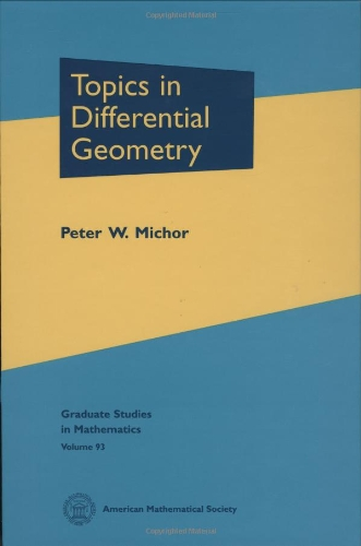 Topics in Differential Geometry Graduate Studies in Mathematics