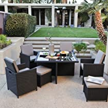 Swell Best Buy Coral Coast Kubi All Weather Wicker Nesting Dining Lamtechconsult Wood Chair Design Ideas Lamtechconsultcom