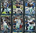 Dallas Cowboys 2015 Topps NFL Football Complete Regular Issue 24 Card Team Set Including Tony Romo, Dez Bryant Plus