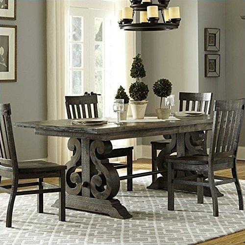 Magnussen Bellamy Wood Rectangular Dining Table in Pine