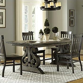 Magnussen Bellamy Wood Rectangular Dining Table in Pine