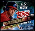 2016 Topps Series 1 Baseball Cards Jumbo Hobby Box (10 Packs of 47 Cards - 1 Autograph and 2 Relic Cards) (Release Date - 02/03/2016)