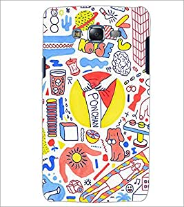 PrintDhaba NEW ERA ART D-6809 Back Case Cover for SAMSUNG GALAXY ON7 (Multi-Coloured)
