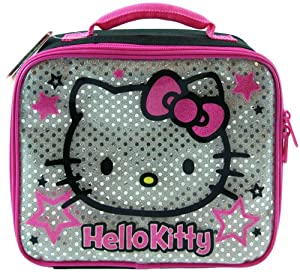 UPD Lunch Bag, Silver Hello Kitty