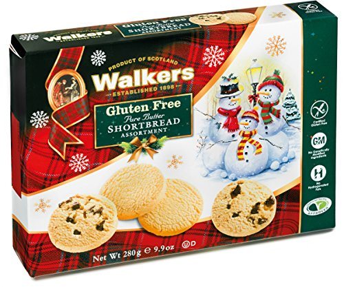 Walkers Shortbread Gluten Free Holiday Shortbread Assortment, 9.9 Ounce (Walkers Bread compare prices)