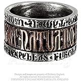 Deus Et Natura Alchemy Gothic Ring