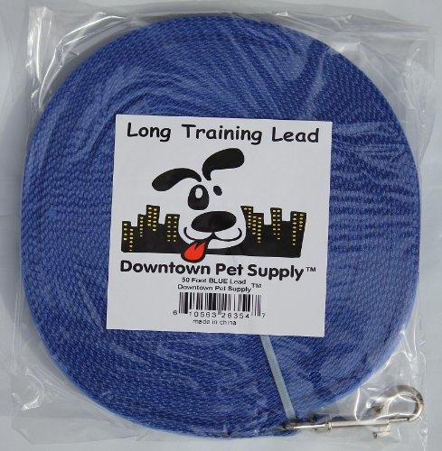 Long Dog Puppy Obedience Recall Training Agility Lead, Leash GREEN, BLACK, RED, BLUE, or ORANGE - by, Pet Supply City, LLC