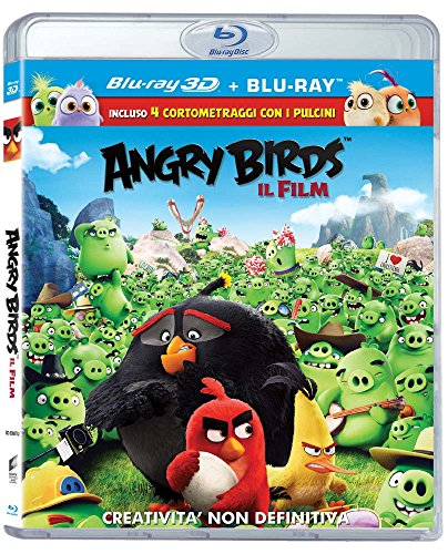 Angry Birds: Il Film (Blu-Ray 3D + Blu-Ray)