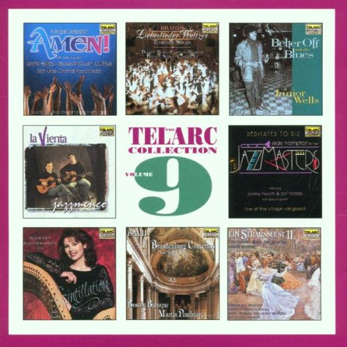 The Telarc Collection, Vol. 9 by Eduard Strauss, Jean Sibelius, Ludwig van Beethoven, Johannes Brahms and Marc-Antoine Charpentier