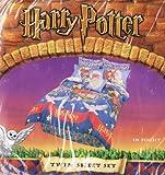 """Harry Potter Twin Sheet Set """"In Flight"""" 2001"""