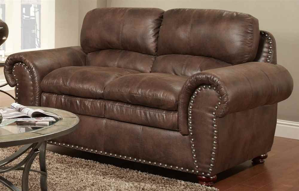 Traditional Loveseat in Padre Espresso Finish