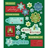 K&Company Winter Words Sticker Medley