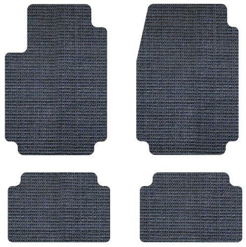 Koolatron Pants Saver Custom Fit 4 Piece All Weather Car Mat for Select Dodge Models Grey