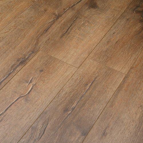 Krono Embossed Laminate Flooring V Groove - 8mm - Warehouse Oak - 2.22m²