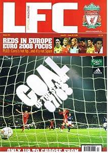 LFC Liverpool football magazine No 304 June 2008 inc STEVEN GERRARD poster
