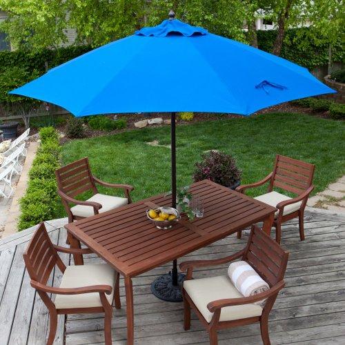 Best Offers Coral Coast 9 Ft Sunbrella Commercial Grade Aluminum