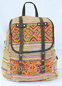 backpack hmong bag /boho bag/ embroidered bag/ hill tribe bag/(EVB005.2)