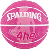 Spalding NBA 4 Her Silver Basketball - Size 6 (at CWL)