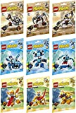 Lego - Mixels - Series 5 - Full set of 9 figures - Gox, Jinky, Kamzo, Krug, Chilbo, Snoof, Spugg, Turg and Tungster