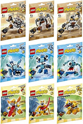 lego-mixels-series-5-full-set-of-9-figures-gox-jinky-kamzo-krug-chilbo-snoof-spugg-turg-and-tungster