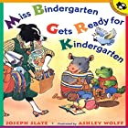 Miss Bindergarten Gets Ready for Kindergarten Audiobook by Joseph Slate Narrated by Joseph Slate