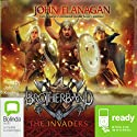 The Invaders: Brotherband, Book 2 Audiobook by John Flanagan Narrated by John Keating