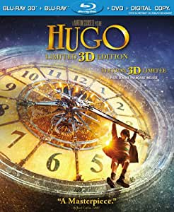 Hugo (Limited 3D Edition) [Blu-ray3D + Blu-ray + DVD + Digital Copy]
