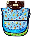 Waterproof Feeder Bib w/Flip Pocket, 3 Pack, Boy, Frenchie Mini Couture