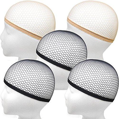 ホワイトメルチェ ウィッグネット ヘアネット メッシュタイプ 筒型 まとめ買いセット
