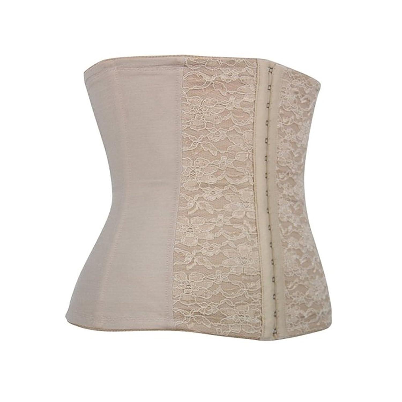LINGERIE: Korsett underbrust – zur der Verringerung der Taille und Oberkörper – mit Spitze bestickt –  Creme – kaufen