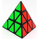 YJ Pyramid Speed Cube 3X3 Triangle Magic Cube Puzzle Toy Black