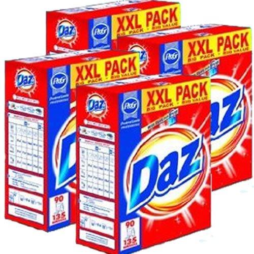 4 x Daz Laundry powder / Washing powder 85 Scoop (5.78KG Each)
