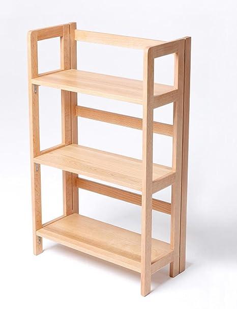Anna scaffali in cucina Nord Europa Landing Shelf Free Installation Libreria in legno massello Scaffale per cucina Scaffale per scarpe multistrato Espositore per soggiorno