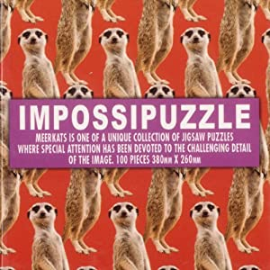 Impossipuzzle Cubes Meerkats