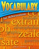 Great Source Vocabulary for Achievement: Student Edition Grade 7 (Vocab for Achievmt)