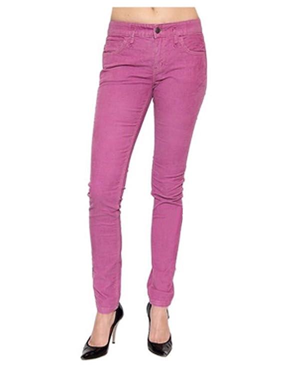 Free People Women's Navy Skinny Corduroy Pants Cords