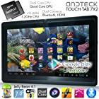 TouchTab 7 X2 Dual Core Google Android 4.1 Tablet PC, Quad Core GPU, HDMI, Bluetooth, Dual Camera, 512MB/4GB [Nov 2013] (7X2 Black)